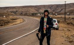 alex in the desert