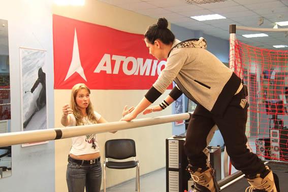 Певица Ёлка в клубе SkyTechSport