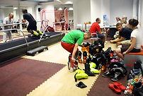 SkiMaster ski school training Latvia's Olympic athletes who won FIS Slalom Race and Snowboard Cross Europe