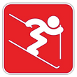 Indoor snow sports training