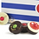 Thumbnail: Pompon de Brest Boîte Marinière de 25 pompons 经典海军条纹巧克力方形礼盒25个装