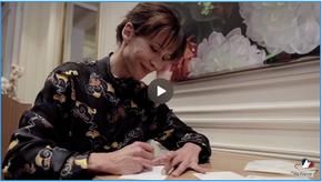MaFrance lance son premier live streaming avec Sophie Marceau