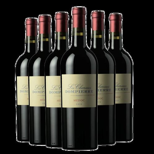Chateau Dompierre 丹陛酒庄2018年梅多克干红葡萄酒 6瓶一箱