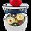 Thumbnail: Pompon de Brest  Bachî de 10 pompons 砰砰海军帽巧克力小礼盒10个装