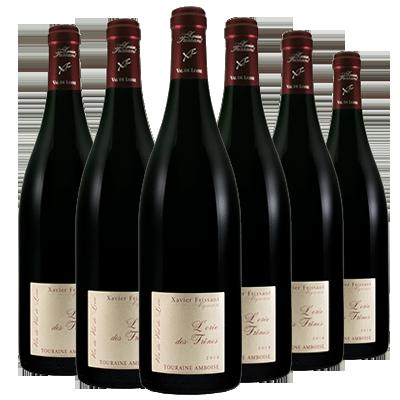 Xavier Frissant  COFFRET FÊTE FRISSANT 法国巴黎农业大赛金奖红葡萄酒2017年 6瓶一箱