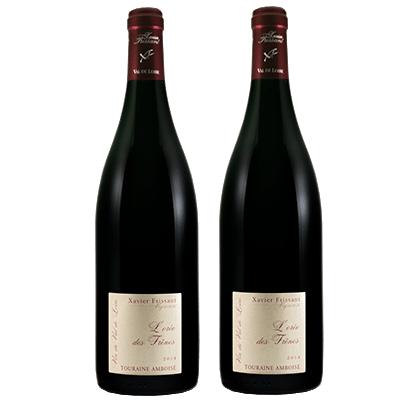 Xavier Frissant - COFFRET DUO FRISSANT 法国巴黎农业大赛金奖红葡萄酒2017年 两瓶套组