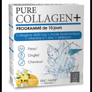 Eric Favre  Collagen+ Programme de 10 jours 法国艾瑞可 胶原蛋白&玻尿酸口服液