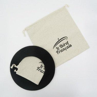 Le Béret Français  Modèle Classique 经典款纯色法式贝雷帽 3个加送防尘袋