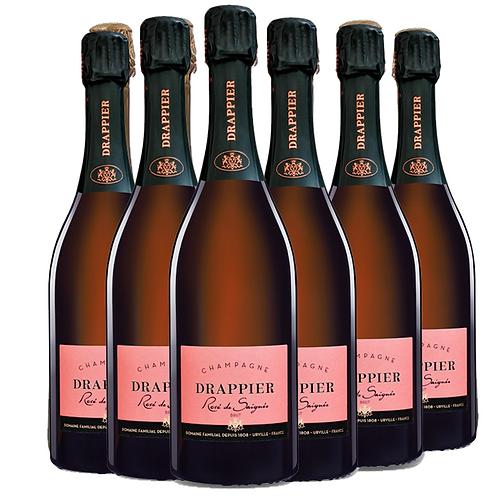 Champagne Drappier 德拉皮尔桃红香槟 6瓶一箱