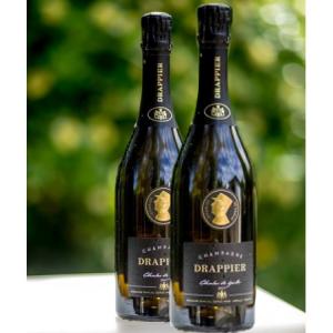 Champagne Drappier COFFRET DUO 德拉皮尔戴高乐头像限量款香槟 两瓶套组