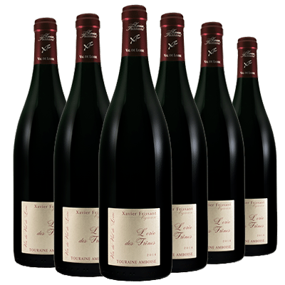 Xavier Frissant 法国巴黎农业大赛金奖红葡萄酒2017年 6瓶一箱