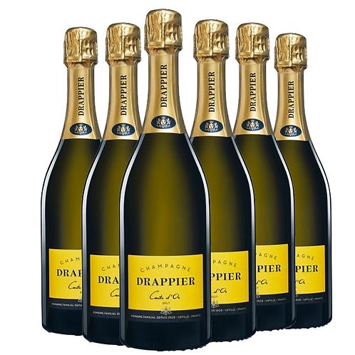 Champagne Drappier 德拉皮尔金卡香槟 6瓶一箱