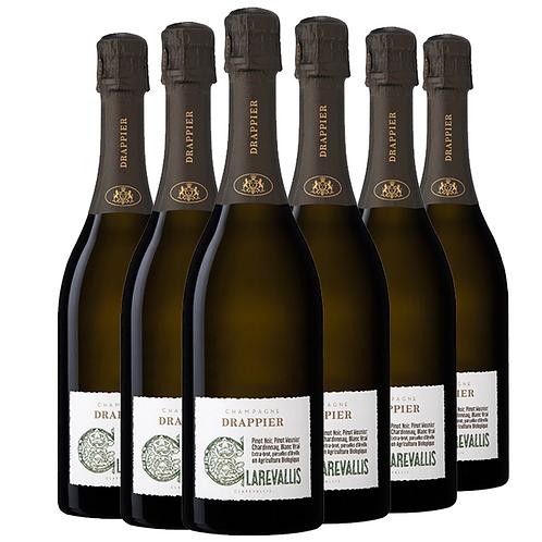 Champagne Drappier 德拉皮尔克莱尔瓦利斯有机农香槟 6瓶一箱