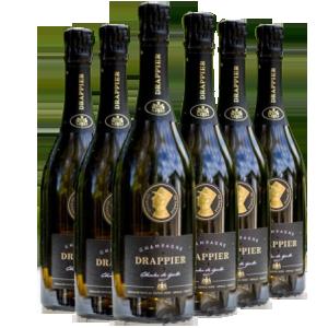 Champagne Drappier COFFRET FÊTE DRAPPIER  德拉皮尔戴高乐头像限量款香槟 6瓶一箱