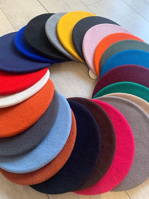 Le Béret Français Modèle Classique 经典款法式贝雷帽多色可选