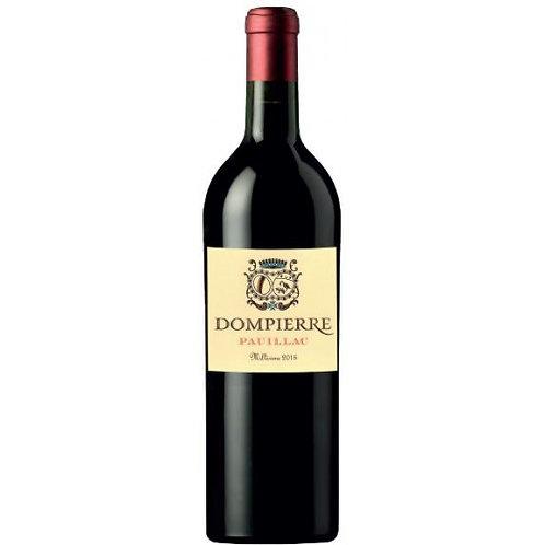 Château Dompierre - Pauillac 2015, rouge 爱丽舍特供丹陛酒庄2015年波亚克红葡萄酒