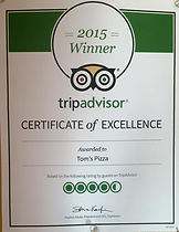 2015 Trip Advisor Cetificate of Excellence