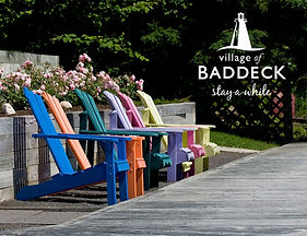 Village of Baddeck, CapeBreton, Nova Scotia
