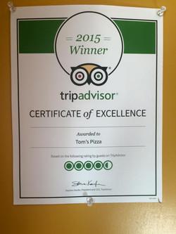 2015 trip advisor
