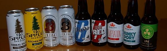 100% Nova Scotia Beers