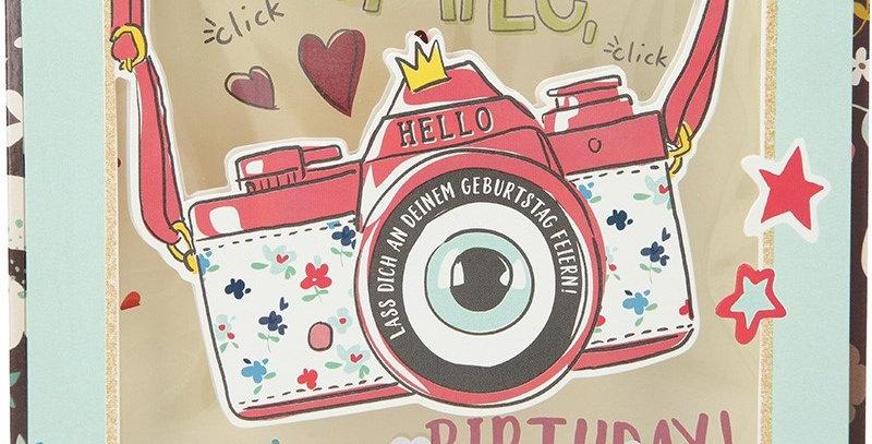 Konfetticard: Smile, it's your birthday!