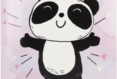 Geburtstagskarte mit Panda