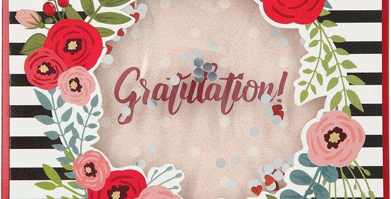 Konfetticard: Gratulation!