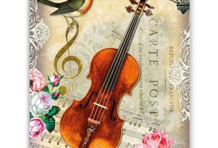Geburtstagskarte Cello