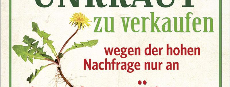 """Kult-Schild """"Für den Garten"""""""