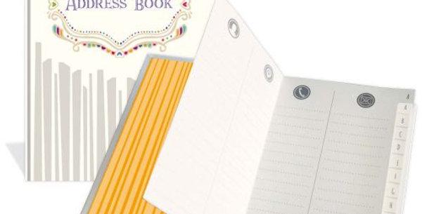 """Adressbuch """"Motiv Address Book"""""""