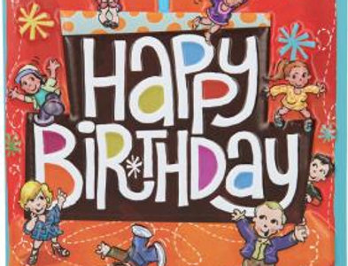 """Geburtstagskarte """"Happy Birthday"""""""