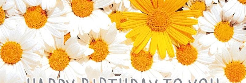 """Geburtstagskarte """"Blüten"""""""