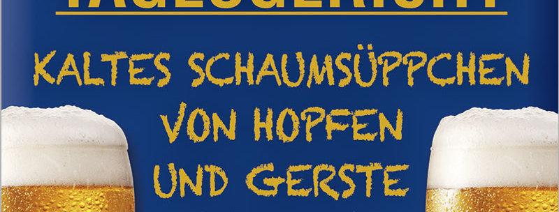 """Kult-Schild """"Tagesgericht"""""""