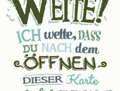 "Geburtstagskarte ""Glocken läuten"""
