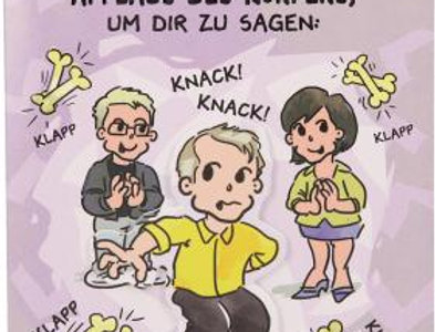 """Geburtstagskarte """"Knochen knacken"""""""
