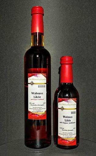 Walnuss Likör mit Cognac