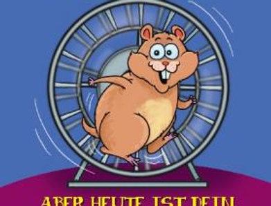 Geburtstagskarte mit Hamster als DJ