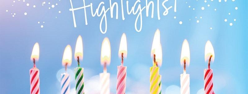 """Postkarte """"Highlights"""""""