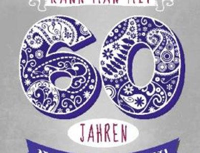 Geburtstagskarte zum 60. Geburtstag mit Überraschung