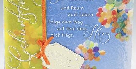 Karte zum Geburtstag