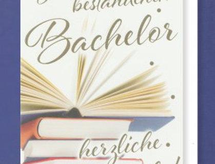 Karte zum Bestandenen Bachelor