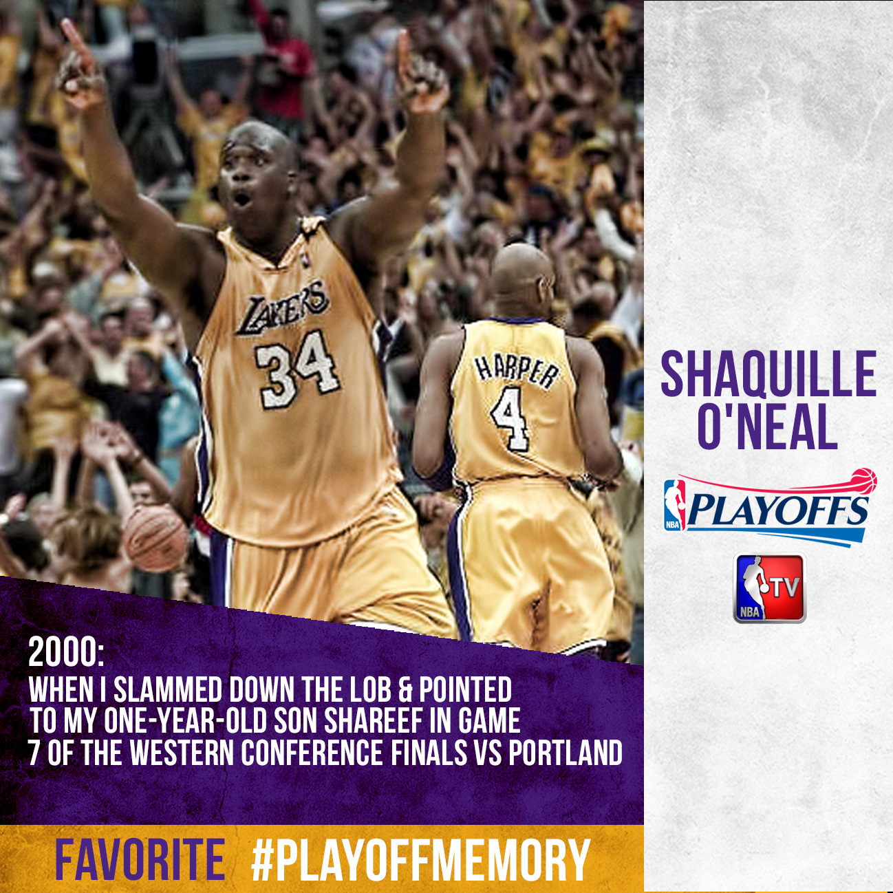 Shaq - #PlayoffMemory