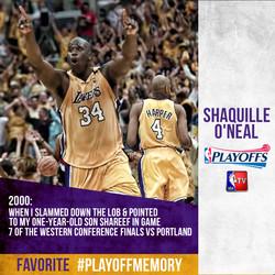 Shaq - #PlayoffMemory