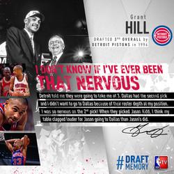 Grant Hill - #DraftMemory