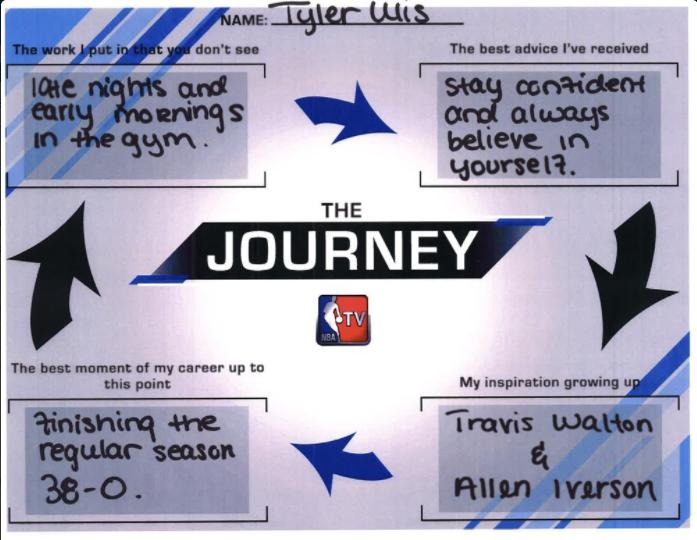 #TheJourney - Tyler Ulis