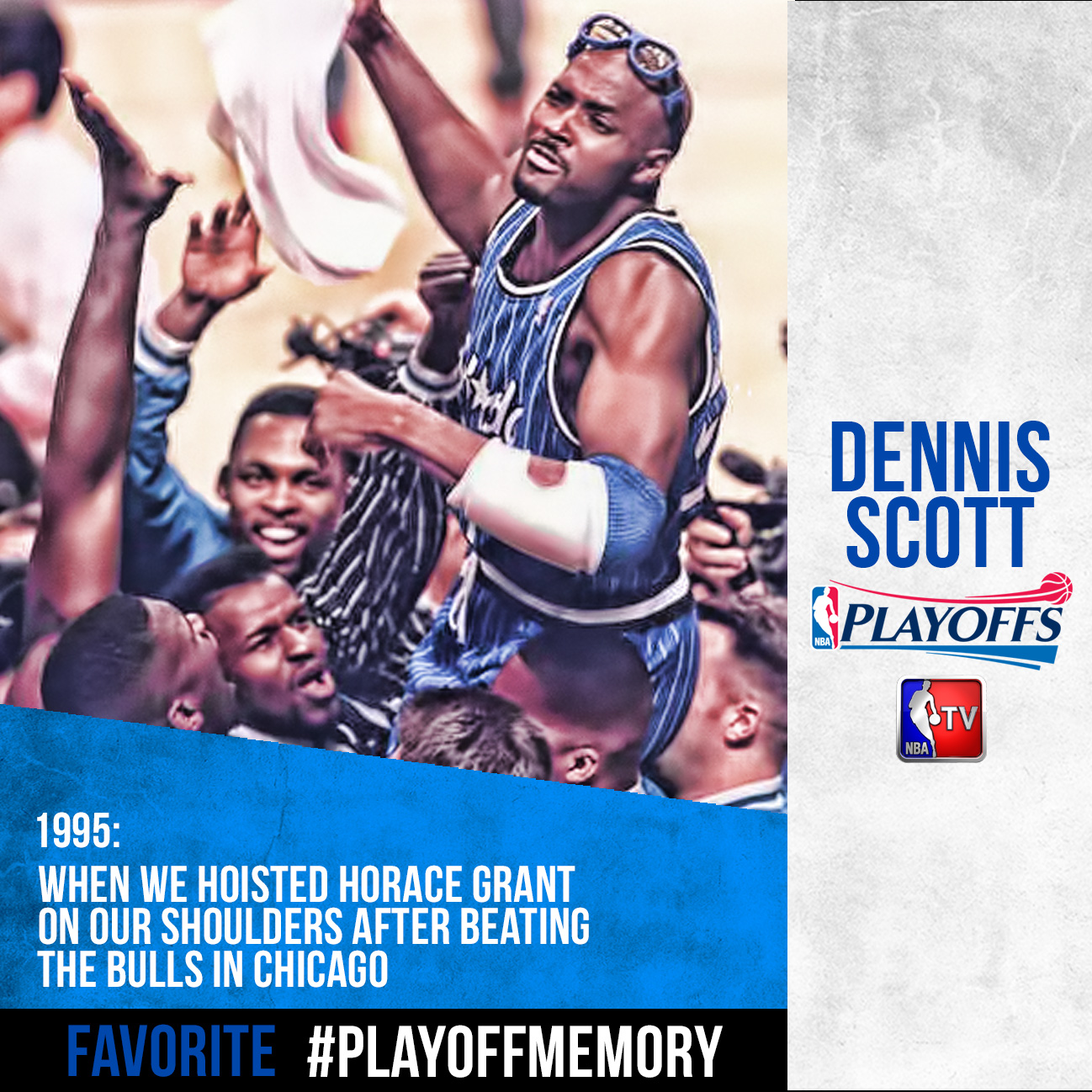 Dennis Scott - #PlayoffMemory