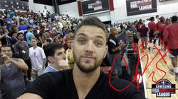 Chandler Parsons signed selfie