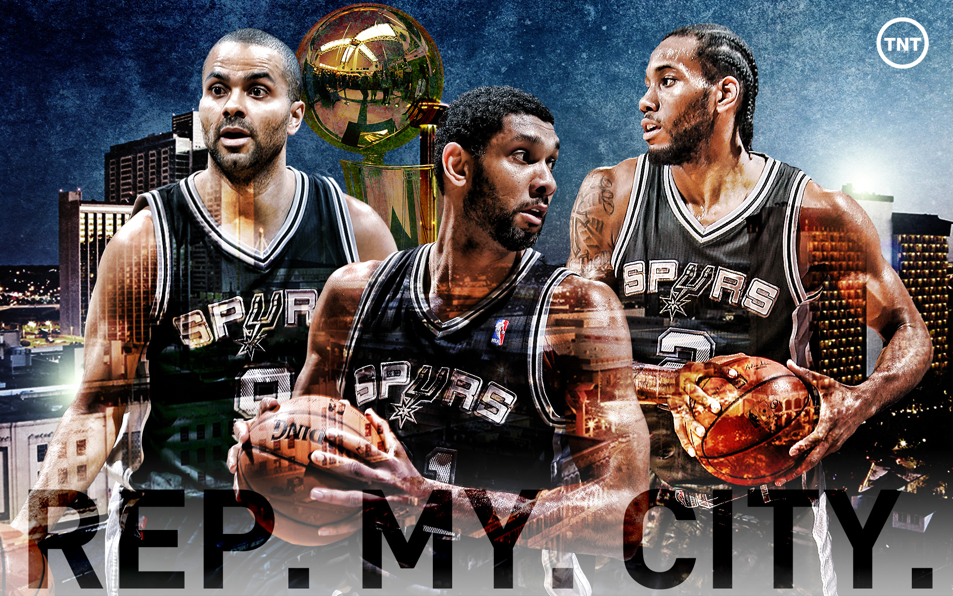 #RepMyCity - Spurs