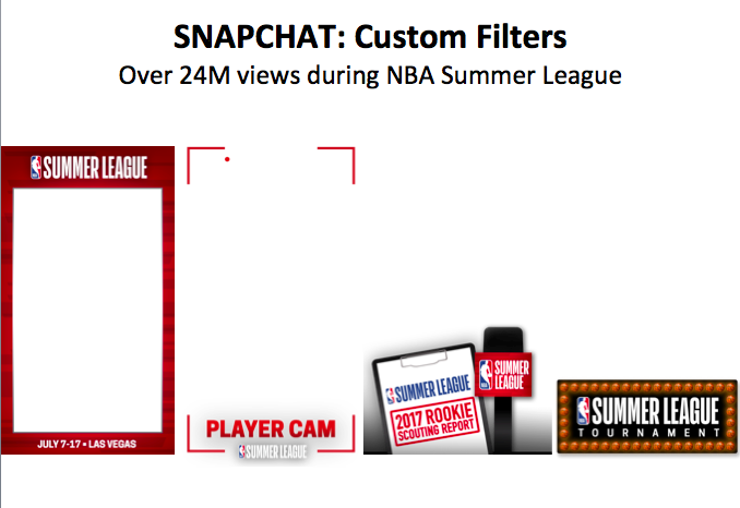 Snapchat Custom Filters