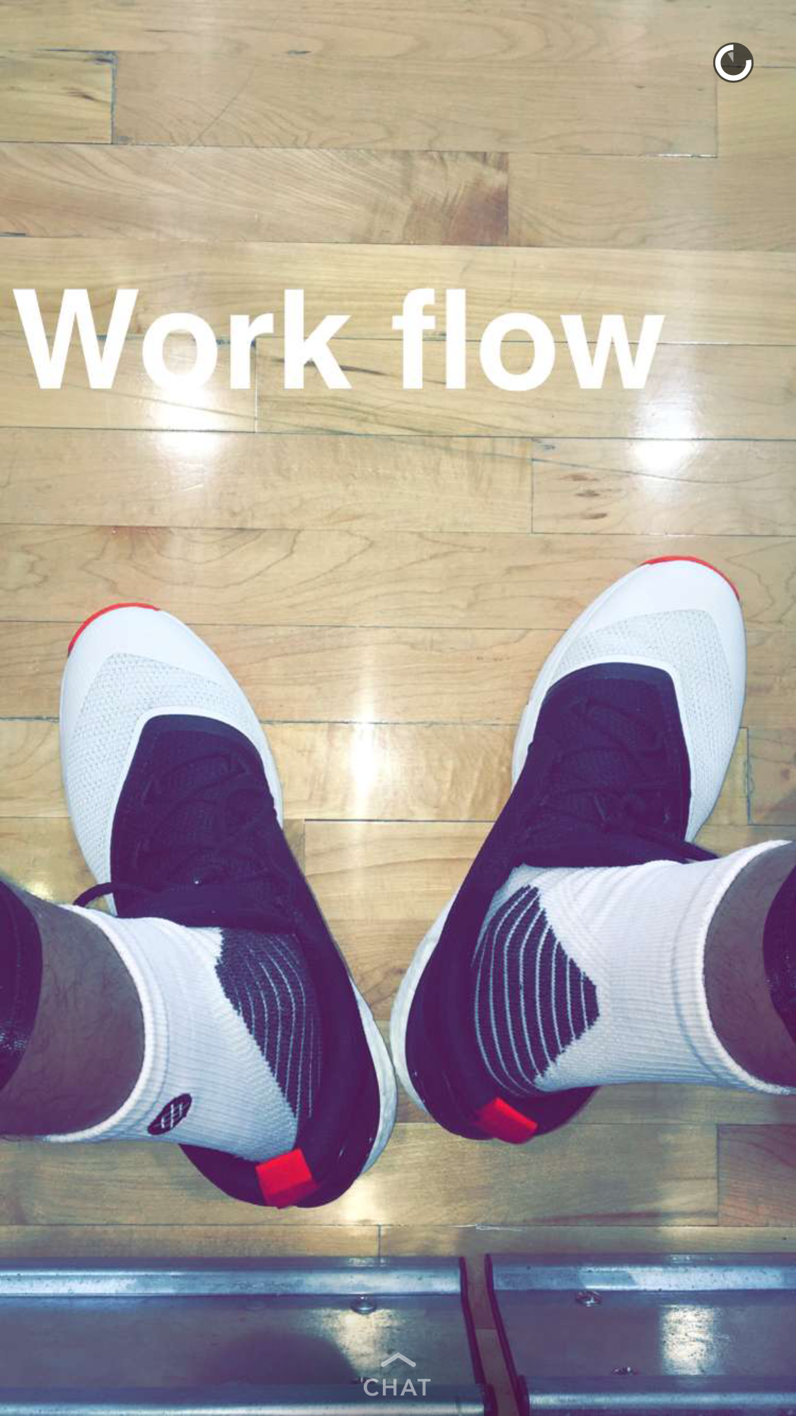 Oubre Snapchat Takeover